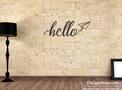 Hello Wall Art