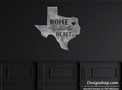 Texas Shape Design DXF File