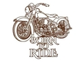 Motorbike Wall Art