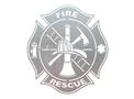 Rescue Badge DXF File