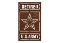 Retired Army Stock Art