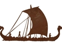 Viking Ship DXF File