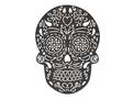 Sugar Skull Stock Art