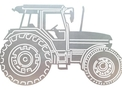 Tractor DXF File