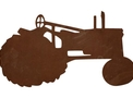 Compact Tractor Silhouette DXF File