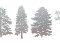 Four Trees DXF File