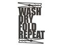 Wash Dry Wall Art