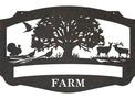 Woodland Farm Sign